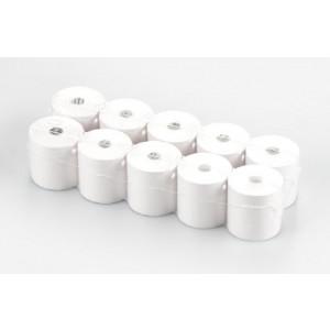 Papirruller til skrivere 911.013 (10 ruller) med en bredde på 57 mm