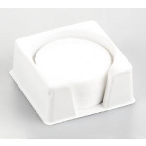Rundt fiberglass filterpakke med 100 stk.